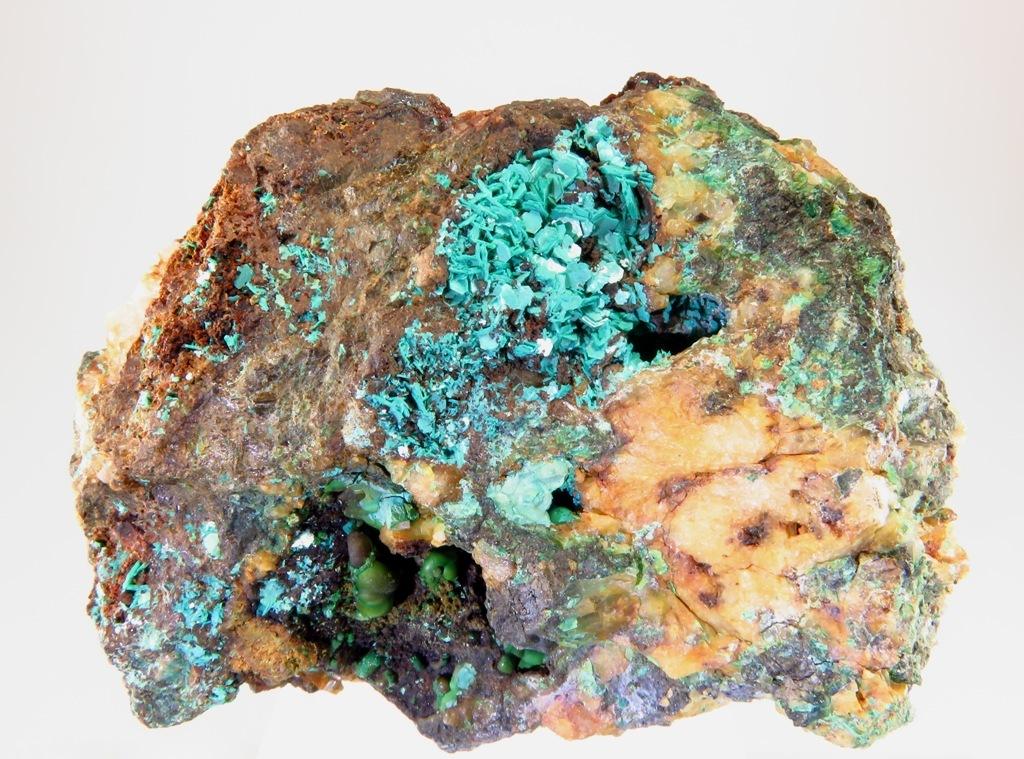 Chalcophyllite & Parnauite