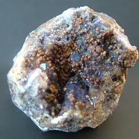 Smithsonite On Fluorite