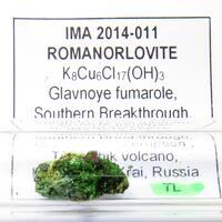 Romanorlovite & Avdoninite