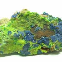 Cuprian Smithsonite & Azurite