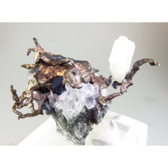 Native Silver & Acanthite